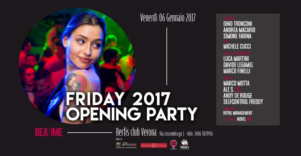 Berfi's Club Friday Opening Party 2017
